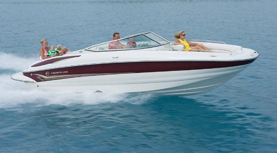 Crownline Deck Boat ...